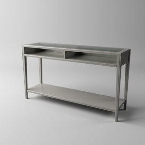 liatorp ikea table 3D model