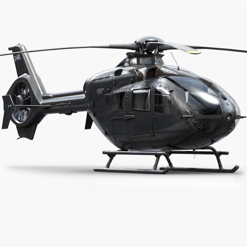 eurocopter h135 private model