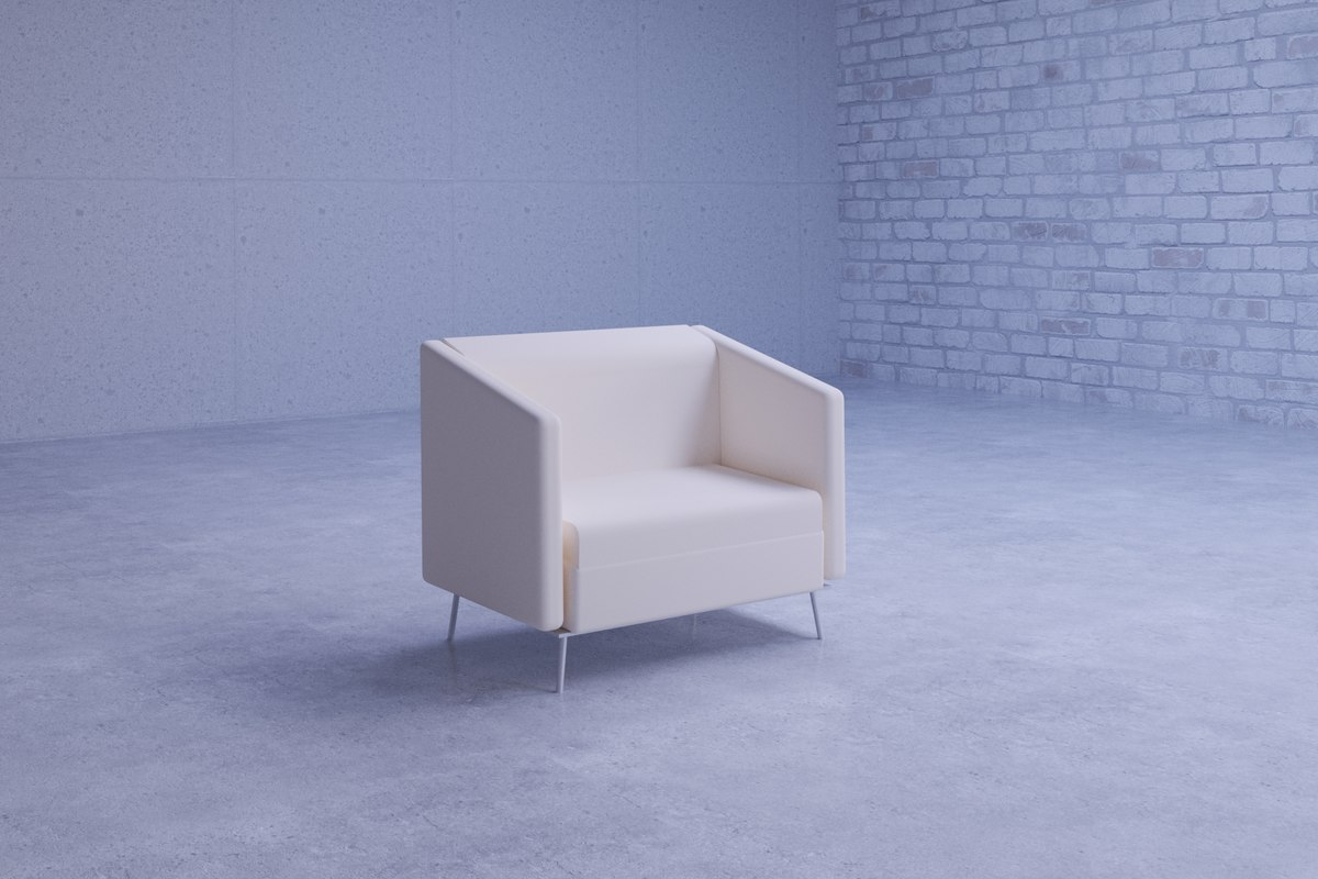 3D beautiful global wind lounge chair