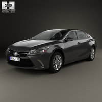 3D toyota camry limited model