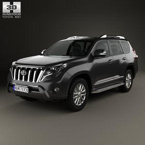 3D model toyota prado land