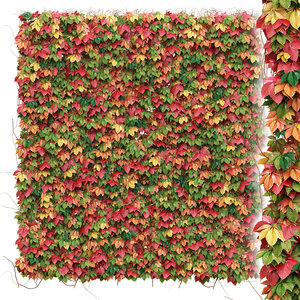 decorative wall autumn leaves model