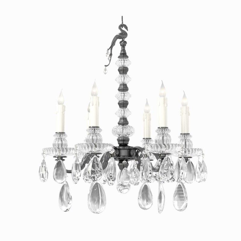 chandelier light maison bagues 3D model