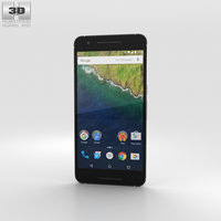 huawei nexus 6p 3D model