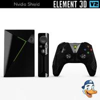 nvidia shield 3D