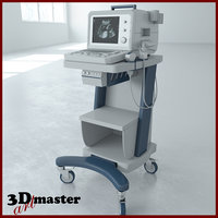 3D medical ultrasound machine