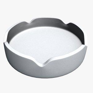 3D ashtray model
