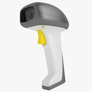 barcode scanner as9500 3D model