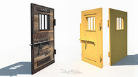 3D old wild west jail