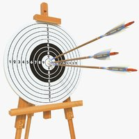 3D target arrows