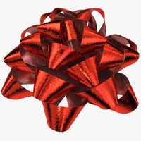 Gift bow 3d models for download turbosquid gift bow 03 3d model negle Image collections