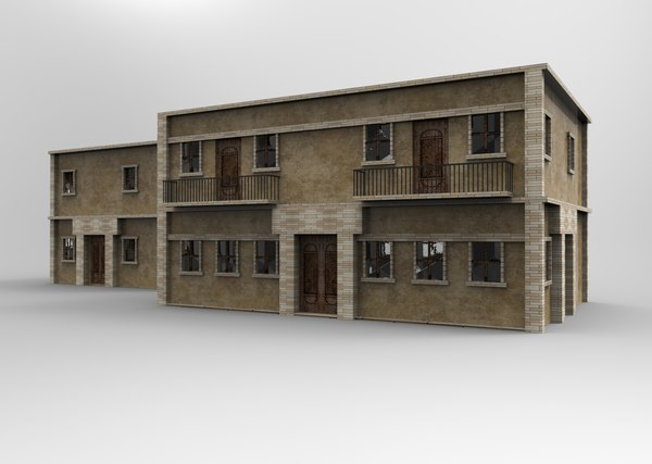 3D model bricked house games