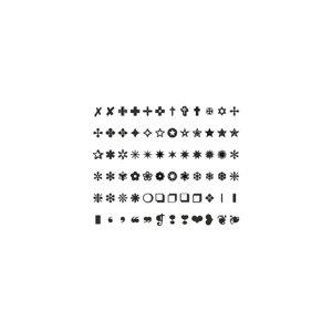 3D symbols set23 cg cad model