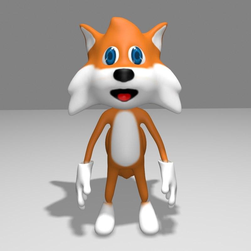 3D toon games model