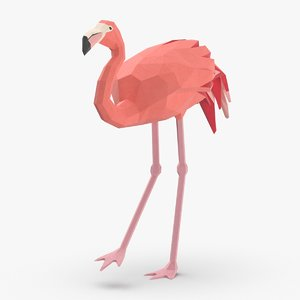 3D flamingo---creeping