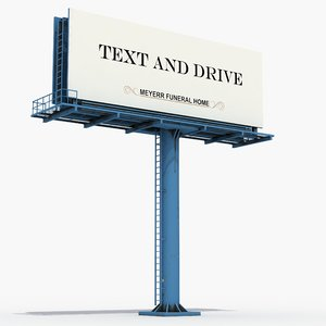 3D large billboard