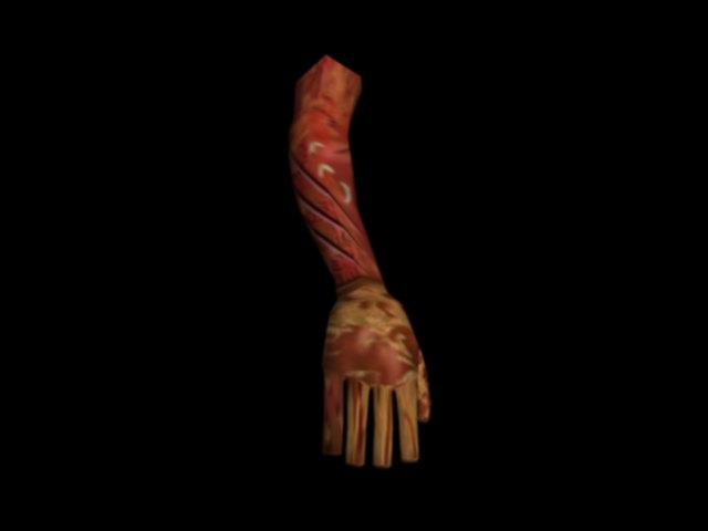 arm 3D model