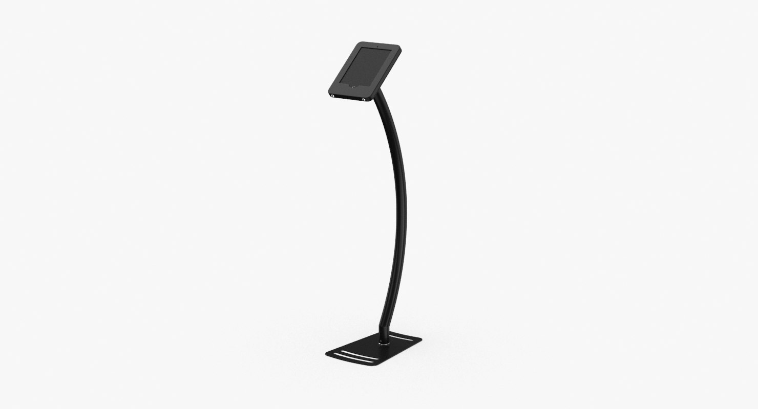 tablet-stand-01---black model