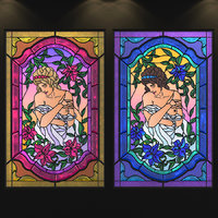 Stained-glass window Afrodite
