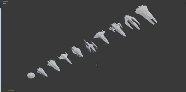Free Space Fighter 3D Models for Download | TurboSquid