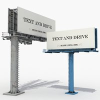 large billboards 3D
