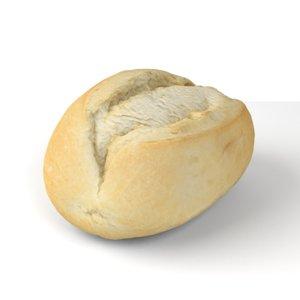 3D wheat buns scanning