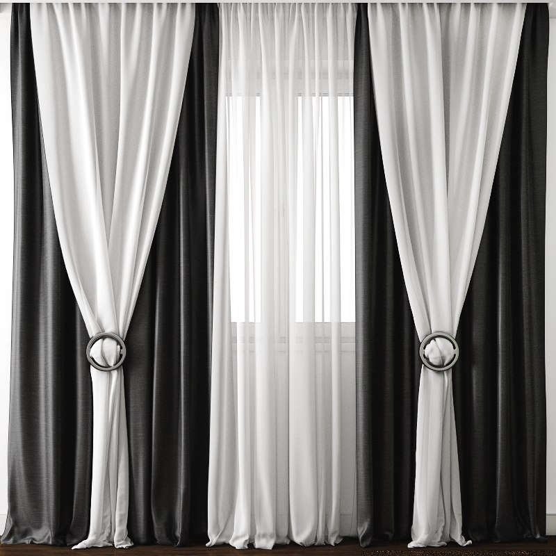 curtains model