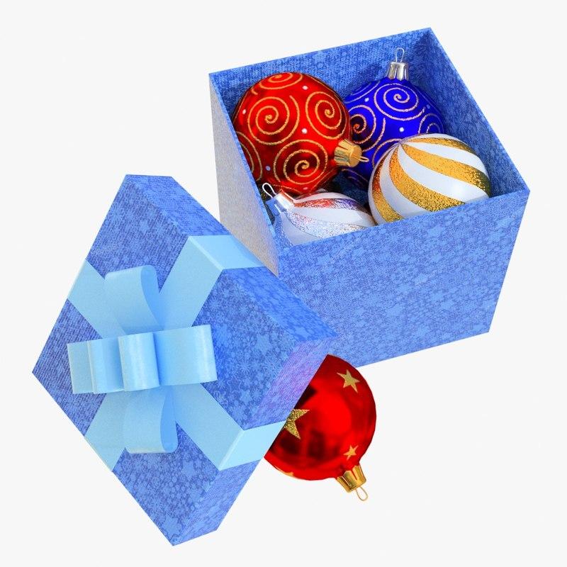 3D christmas box