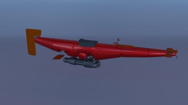 flying 3D model