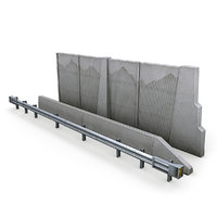 3D highway barriers