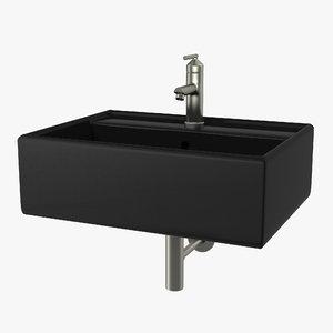 bathroom sink modern square model