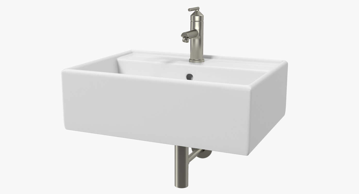 bathroom vessel sink 3D model