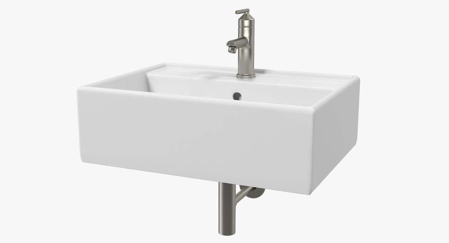 Lavabo-vasque de salle de bain