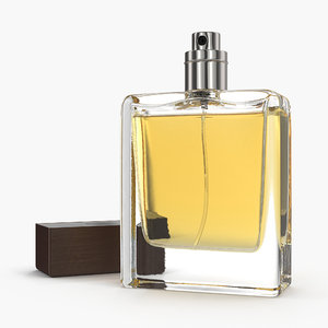 perfume bottle generic 3D model