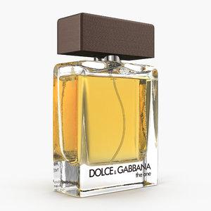3D model perfume dolce gabbana