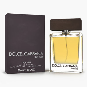 perfume men dolce gabbana 3D model