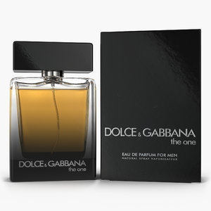eau parfum men dolce 3D