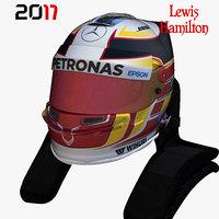 Hamilton helmet 2017