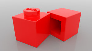 lego brick model