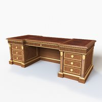 classic desk ceppi 3D model