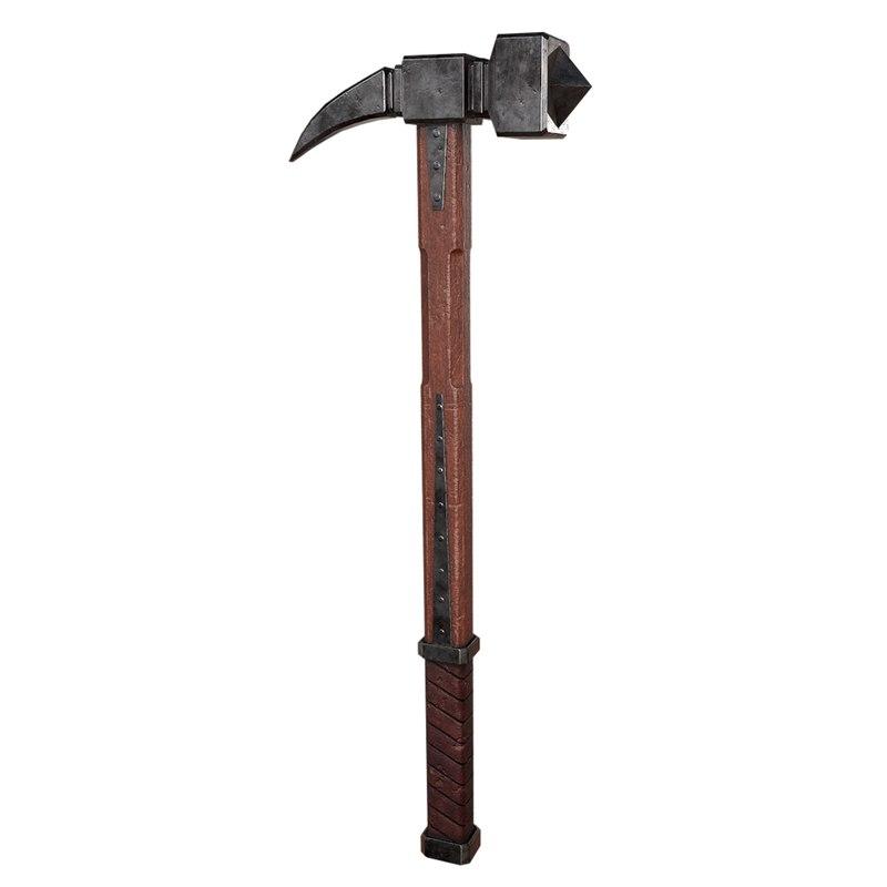 gameready hammer 3D model