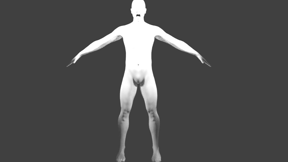 characters people 3D model