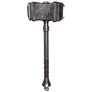 gameready battle hammer 3D model