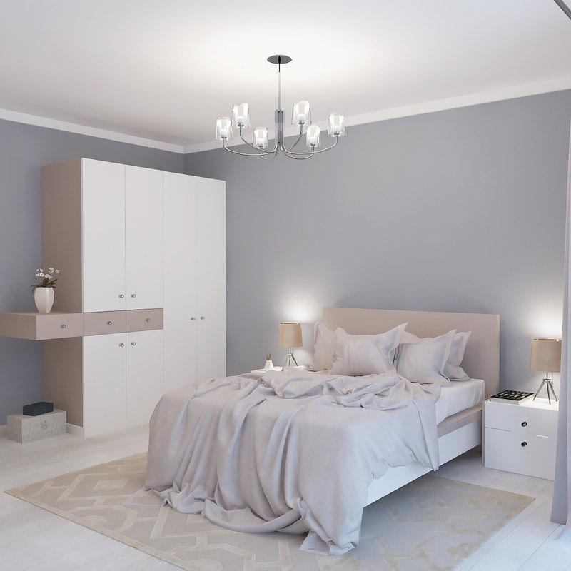bedroom light 3D