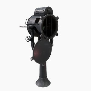 marine searchlight model
