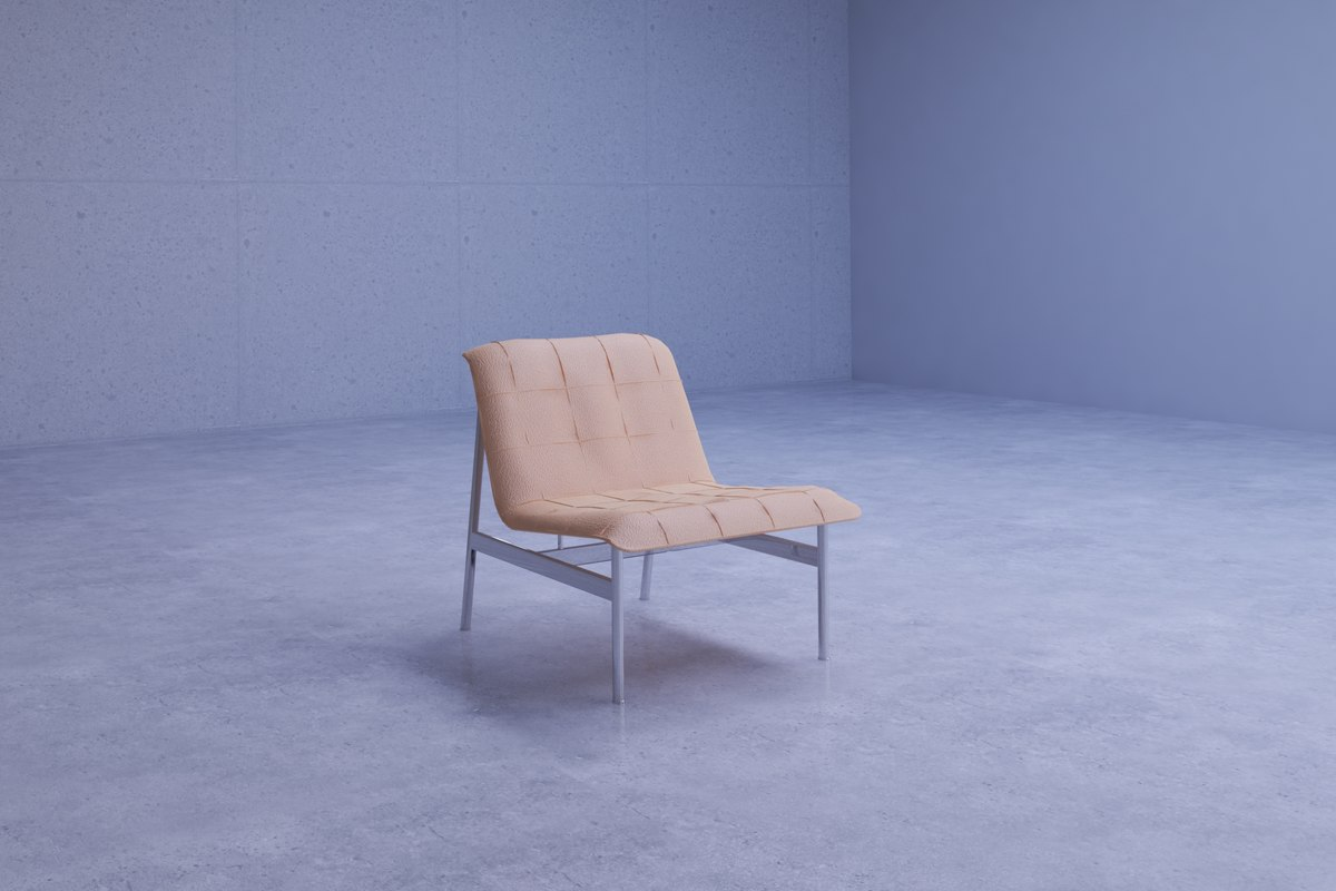 contemporary lounge chair 3D model