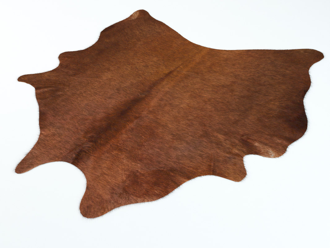 3D model ikea koldby cowhide