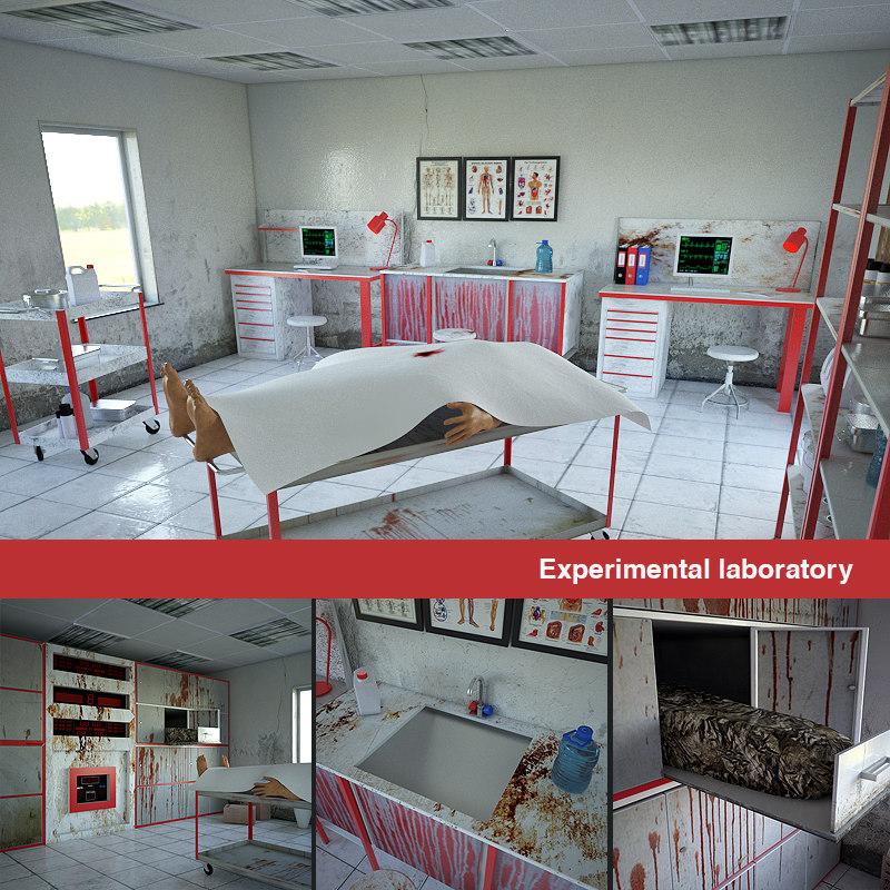 3D experimental laboratory model