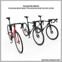 3D racing bike bmc teammachine
