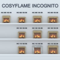 fireplace Cosyflame Incognito